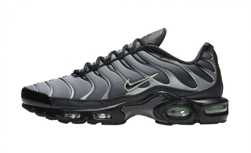 Nike Air Max Plus Black Particle Grey
