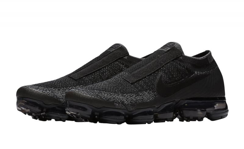 Nike Air VaporMax Laceless Black Night