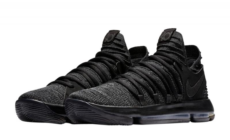 Nike KD 10 Triple Black - KicksOnFire.com