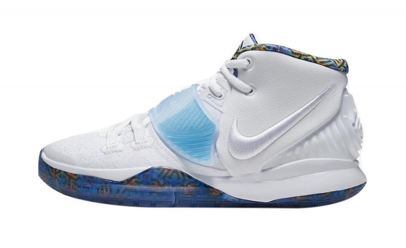Nike Kyrie 6 GS White Sapphire - KicksOnFire.com