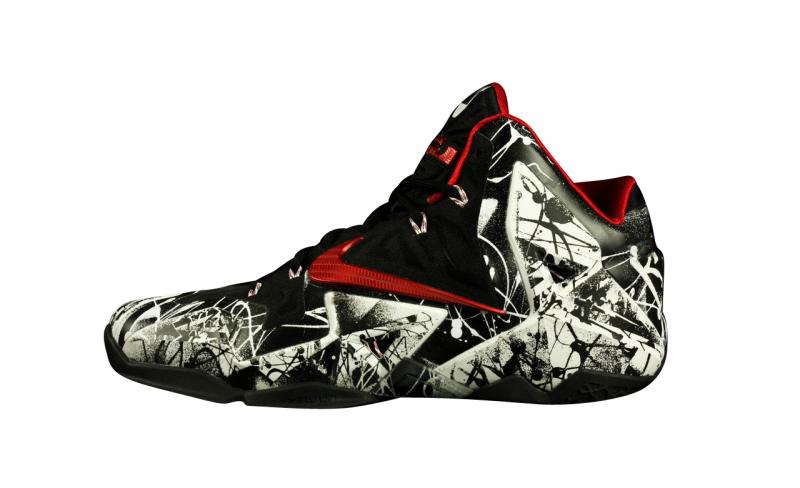 Nike Lebron 11 - Graffiti - KicksOnFire.com