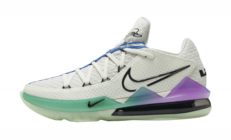 Nike LeBron 17 Low Glow In The Dark