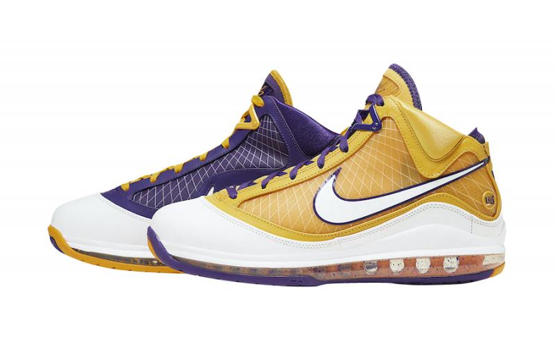 Nike Lebron 7 lakers media day