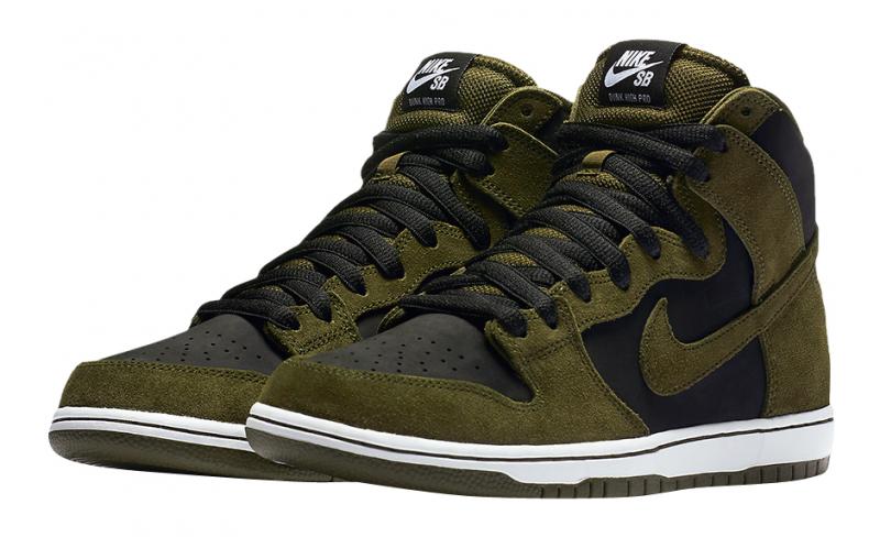Nike SB Dunk High Dark Loden