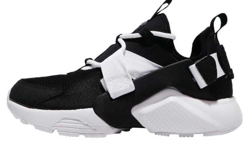 Nike WMNS Air Huarache City Low Black White - KicksOnFire.com