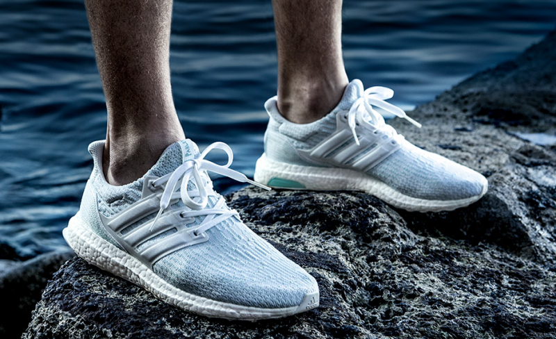Parley x adidas Ultra Boost 3.0 Coral