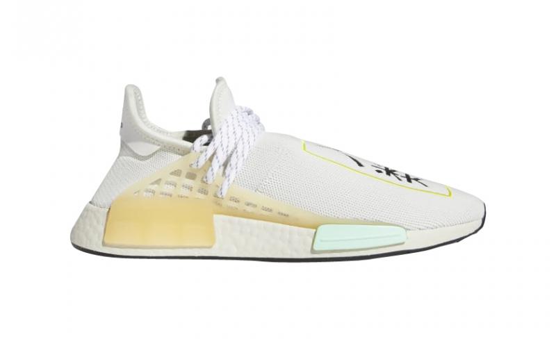 Pharrell x adidas NMD Hu Crystal White