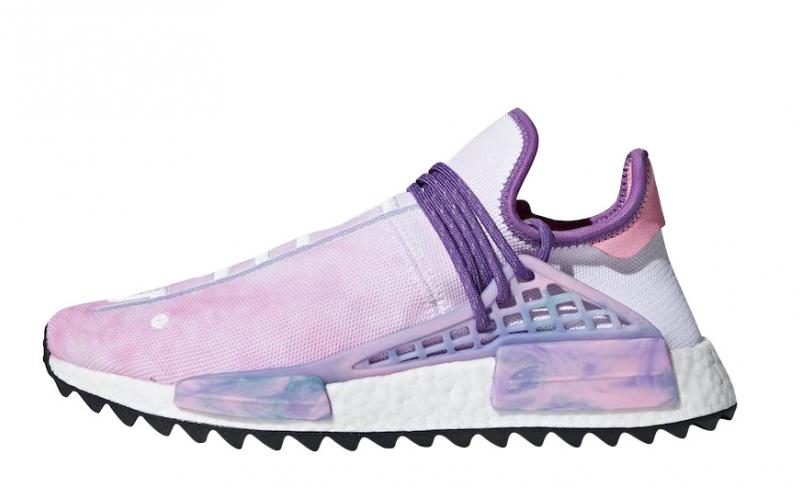 Pharrell x adidas NMD Hu Trail Holi Pink Glow - KicksOnFire.com