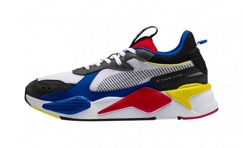 PUMA RS X Toys White Blue - KicksOnFire.com