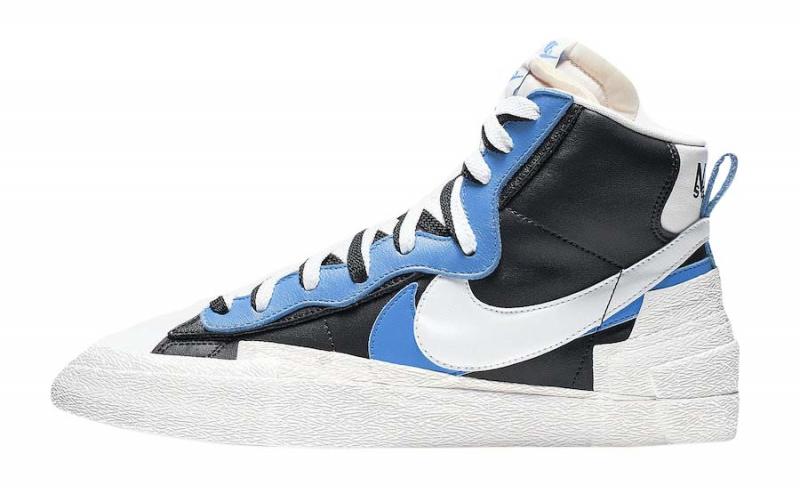 Sacai x Nike Blazer Mid University Blue