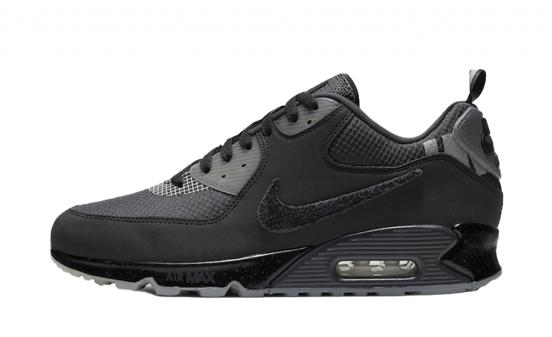 UNDEFEATED x Nike Air Max 90 Black Anthracite - KicksOnFire.com
